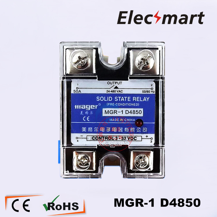 Mager Solid State Relay SSR DC AC MGR 1 D4850 high quality