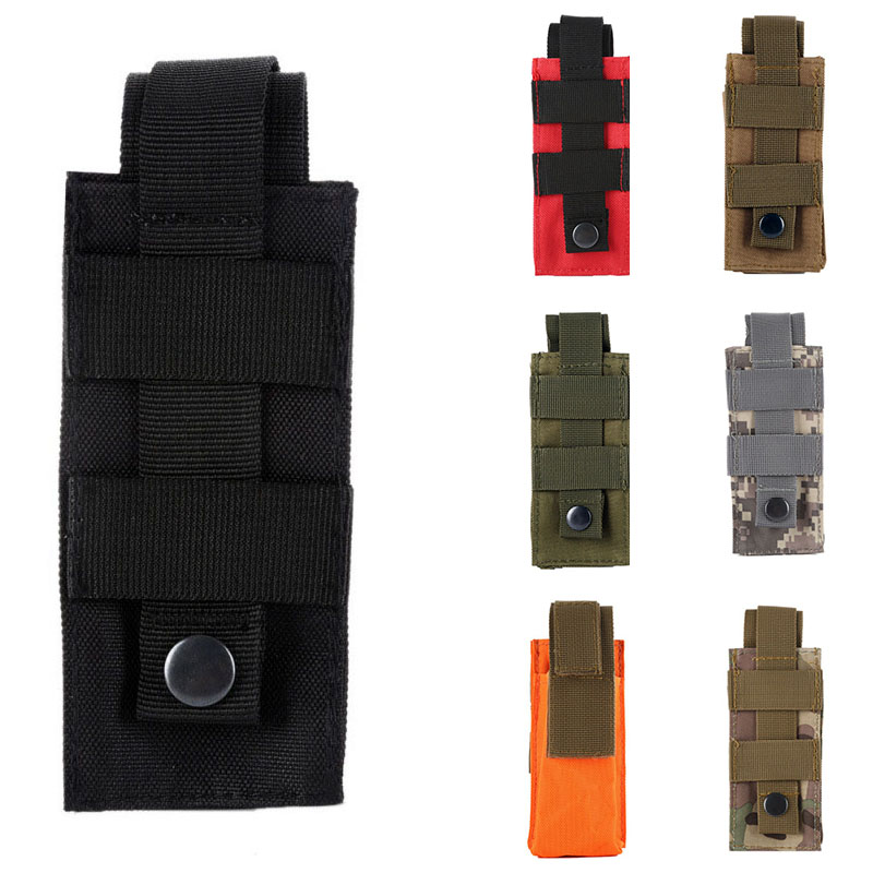 Outdoor Sports Bags Tactical Tourniquet Pouch Medical Shears Small Package Flashlight Sheath