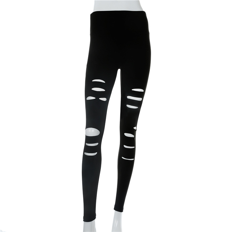 Print Running Pant Women Yoga Pant Winter Sporty Leggings 2018 High Quality Tropical Tights Slim Sportswear
