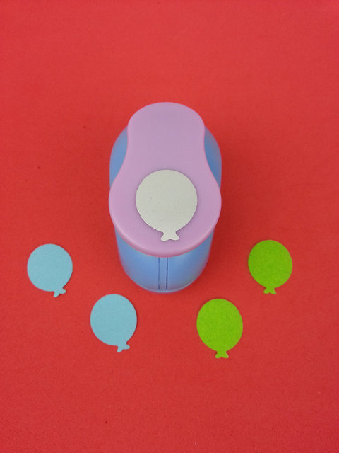 Free Ship 1 Inch Air Balloon Punch Paper Craft Punch Eva Punch