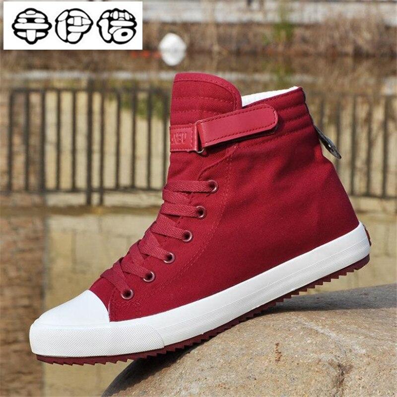 2019 novo homem vulcanize sapatos de lona clássico sapatos de renda sólida casual branco preto vermelho casal tênis de alta qualidade sapatos de lona