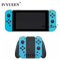 IVYUEEN For Nintend Switch NS Joy Con Replacement Housing Shell Cover Neon Blue Case For Joy