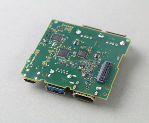 Image 4 - מקורי תיקון חלקי בסיס ביצועים האם עבור Nintend מתג NS HDMI נמל Socket מחבר עם PCB לוח OCGAME