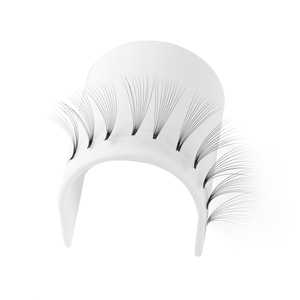 Image 5 - 12 Lines 3D~10D Russian Premade Volume Fans Eyelashes Extension C Curl 0.07 Thickness Heat Bonded Eyelashes Makeup Tools