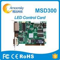 NOVASTAR Sending Card MSD300 High Refresh Gray Grade Sync Controller Support 1280 1024 Pixel Dual Rj45