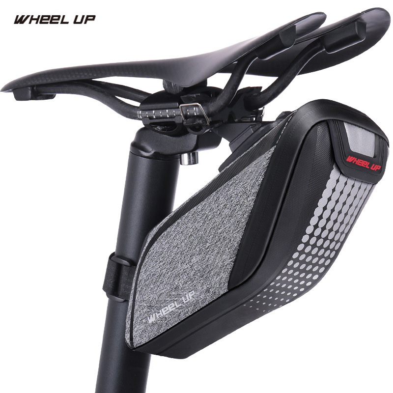 Cycling Bag Bicycle Waterproof Seat Tube Saddle Bag for Mountain Road Bike