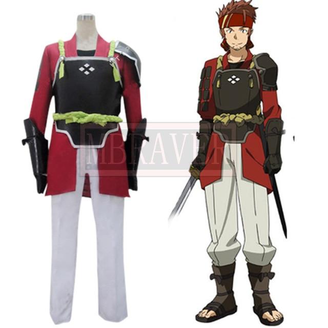 Customized Sword Art Online Salamander Klein Cosplay Costume Anime