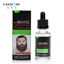 Natural Organic Beard Oil Balsam Wax Hair Loss Conditioner For Fast Beard Growth 40ml Essence Hair Tonic Gentlemen Beard Care