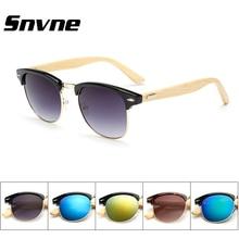 Snvne Mujeres de los hombres gafas de madera De Bambú de madera gafas de sol gafas de sol oculos feminino luneta de soleil masculino mujer hombre hombre
