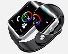 MambaMan A1 Bluetooth Smart Watch Wrist Watch Men Sport watch for iPhone 6 for Samsung S4/Note 2/3 Android/IOS vs xiaomi band 2
