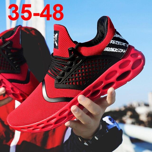 Weweya Croc Ayakkabı Erkekler Flyknit Ayakkabı Erkekler rahat ayakkabılar Adam Eğitmenler yürüyüş ayakkabısı Erkek Açık Ayakkabı Tenis Masculino Adulto