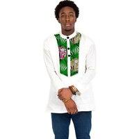 African Men Clothes Fashion Print Short Sleeve Tops Dashiki Man Clothing T shirt Africa Style Design Dance Festive Costume Men