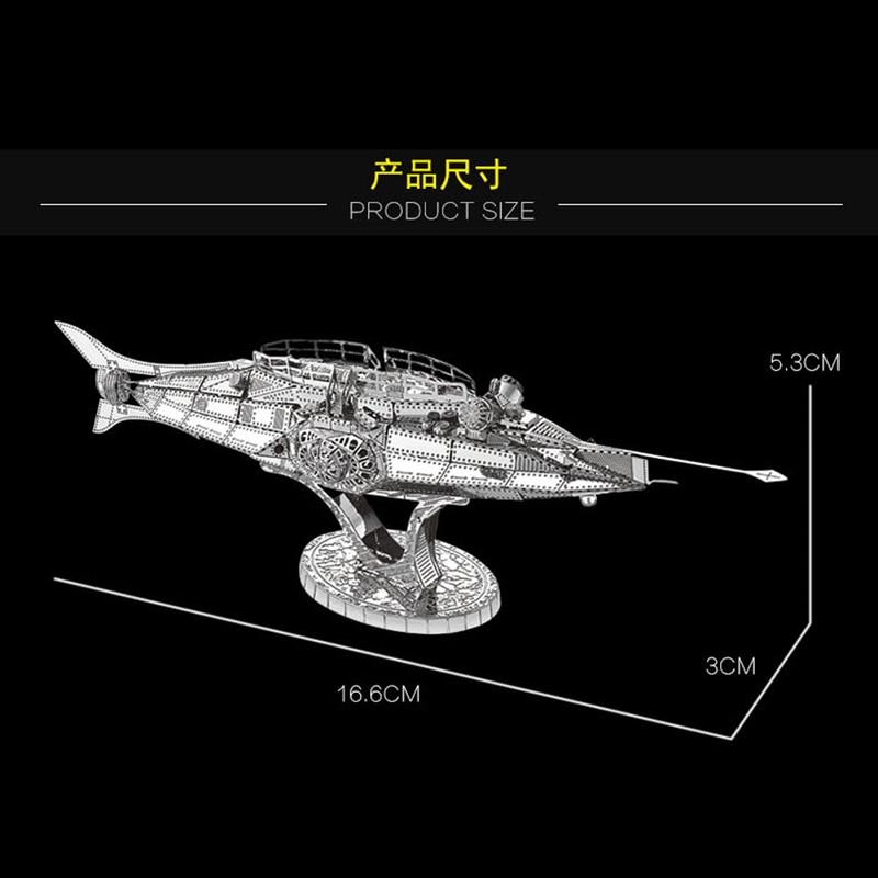 2018 წლის ნანუანის 3D მეტალის - ფაზლები - ფოტო 5