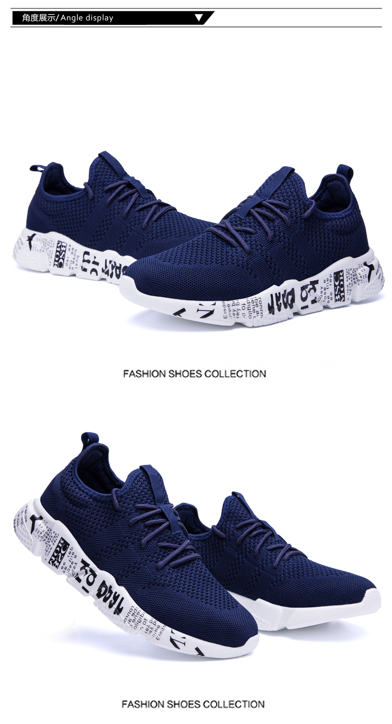 Explosion promotion in 2019, low price one day snapped up,Sneakers Men Trendy Shoes Male breathable red 44 11