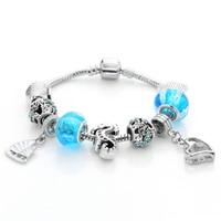 Zenper Newest Snake Chain Bracelet & DIY jewelry Charms heart Bracelets Stretchy Bracelets christmas gifts  for Women