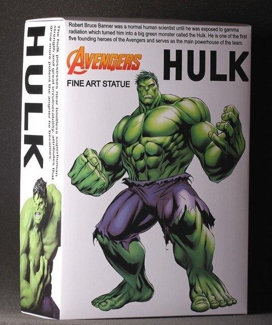 Marvel Avengers Assemble The Hulk maximum Super Heroes PVC 36CM Action Figure Collection