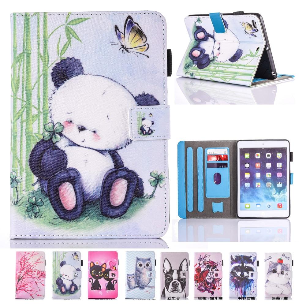 Coque iPad Mini 4 için Tablet Çocuk Durumda Yeni Hayvan Baskılı - Tablet Aksesuarları - Fotoğraf 1