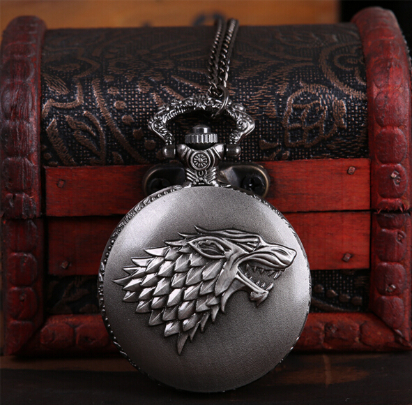 Vintage Game of Thrones Pocket Watch