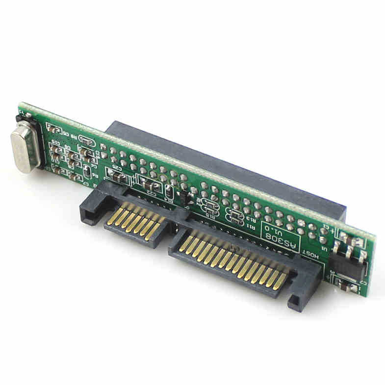 Laptop 2.5 Hard Drive 44Pin IDE Female to 7+15Pin 22Pin SATA Male Adapter Converter