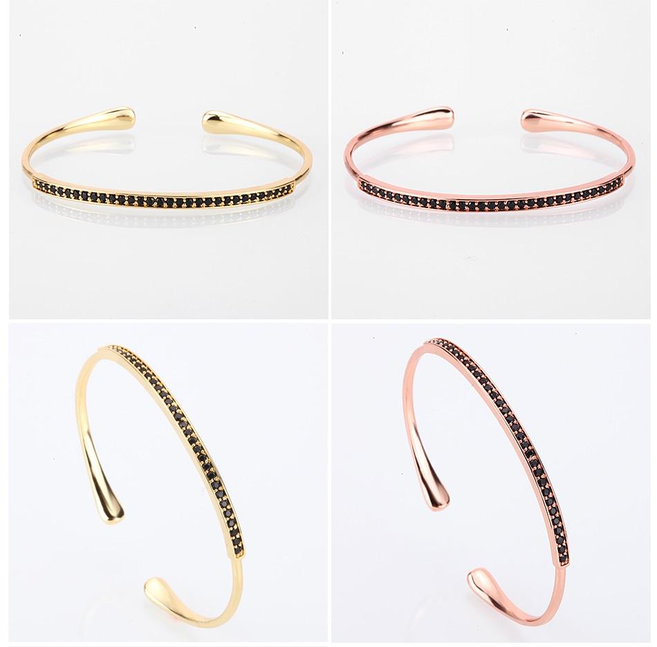 cuff bangles men gold bangles luxury bracelets bangles lover pave setting zircon jewelry gifts viking fashion  trendy jewelry