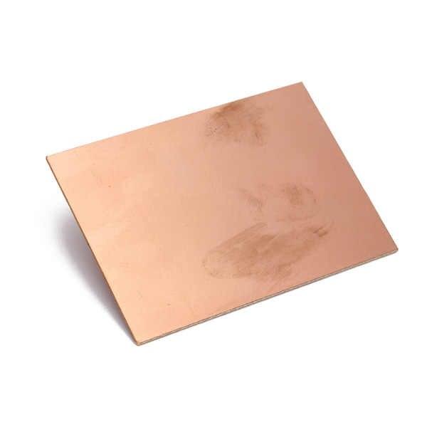 Nouveau 70x100x1.5mm 20 pcs/lot FR4 PCB simple face cuivre plaqué bricolage PCB Kit stratifié Circuit imprimé épaisseur 1.2mm meilleur prix