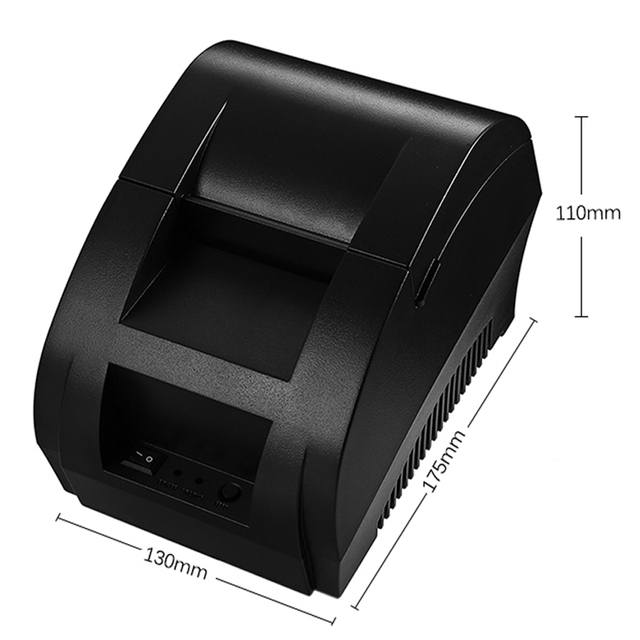 Thermal receipt printer POS printer 58mm Bluetooth USB for supermarkets and stores