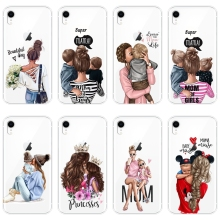 For iPhone 6 S 6S 7 8 X XR XS Max Case Silicone Black Girl B