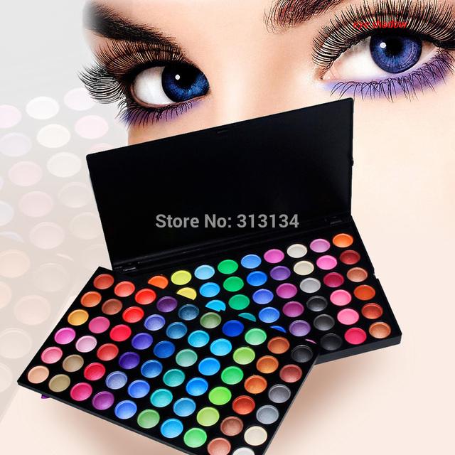 Atacado Pro 120 Cores de Maquiagem Dos Olhos Sombra Cosméticos Shimmer Matte Eyeshadow Palette Set 2 #