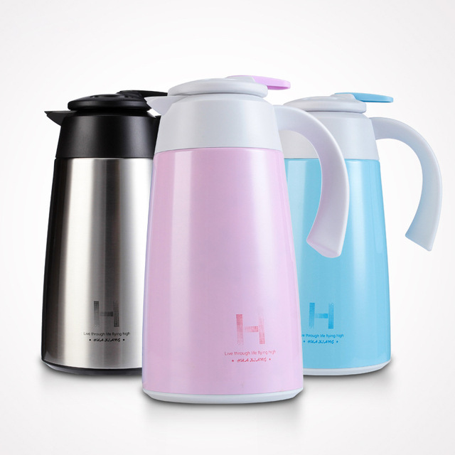 1 8l Large Capacity Insulation Pot Coffee Tea Thermos Stainless Steel Vacuum Flask Thermoses For Travel