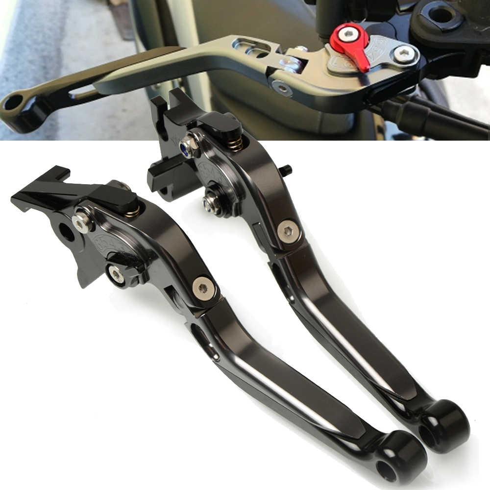 Motocicleta CNC alavanca da embreagem freio ajustável para Suzuki GSXR600 K7 GSXR750 K9 K8 K10 GSX-R GSXR 600 750 2006 2007 2008 2009 2010