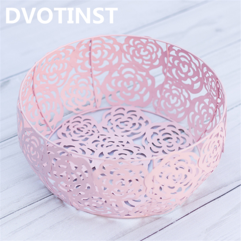 Dvotinst Newborn Baby Photography Props Iron Posing Round Basket Tub Fotografia Accessories Infant Studio Shooting Photo Props dvotinst baby photography props flowers hanging basket decoration fotografia accessories infant toddler studio shooting photo