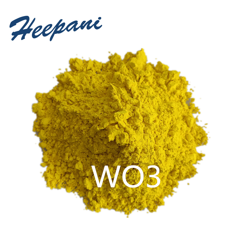 Free Shipping Tungsten Trioxide Powder High Purity WO3 Nanoparticle Tungsten Oxide Powder