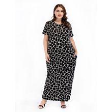c23e720cd3c Marina Kaneva European and American style knit large size women s dress  Arabian loose