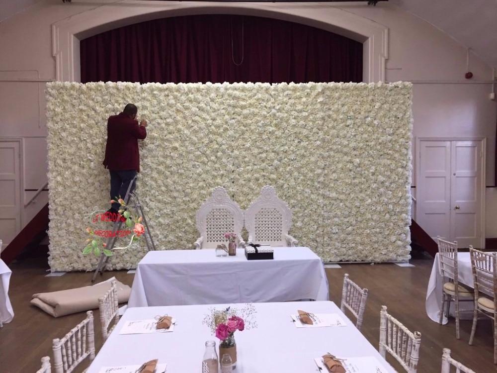 Wedding Flower Wall And Frame Wedding Flower Background