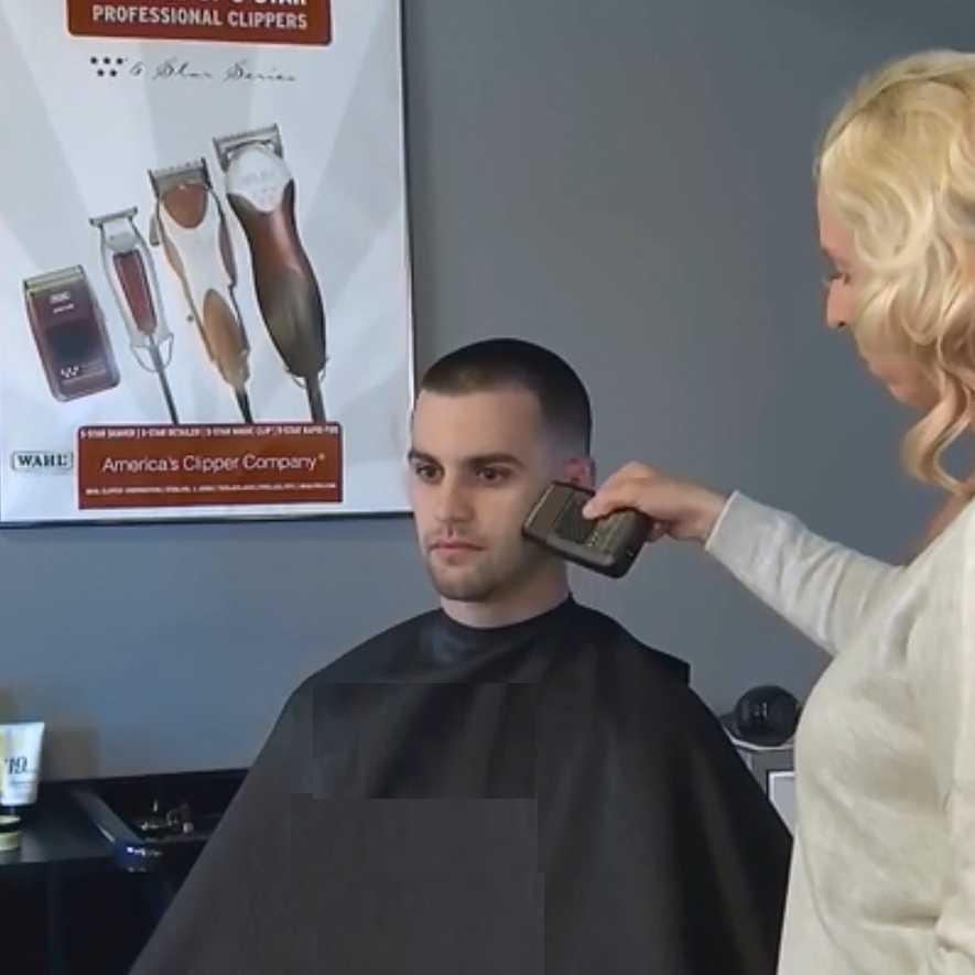 Poderoso recarregável shaper shaper barbeiro folha cabeça de barbear barbeador elétrico para barbeiros estilistas acabamento ferramenta