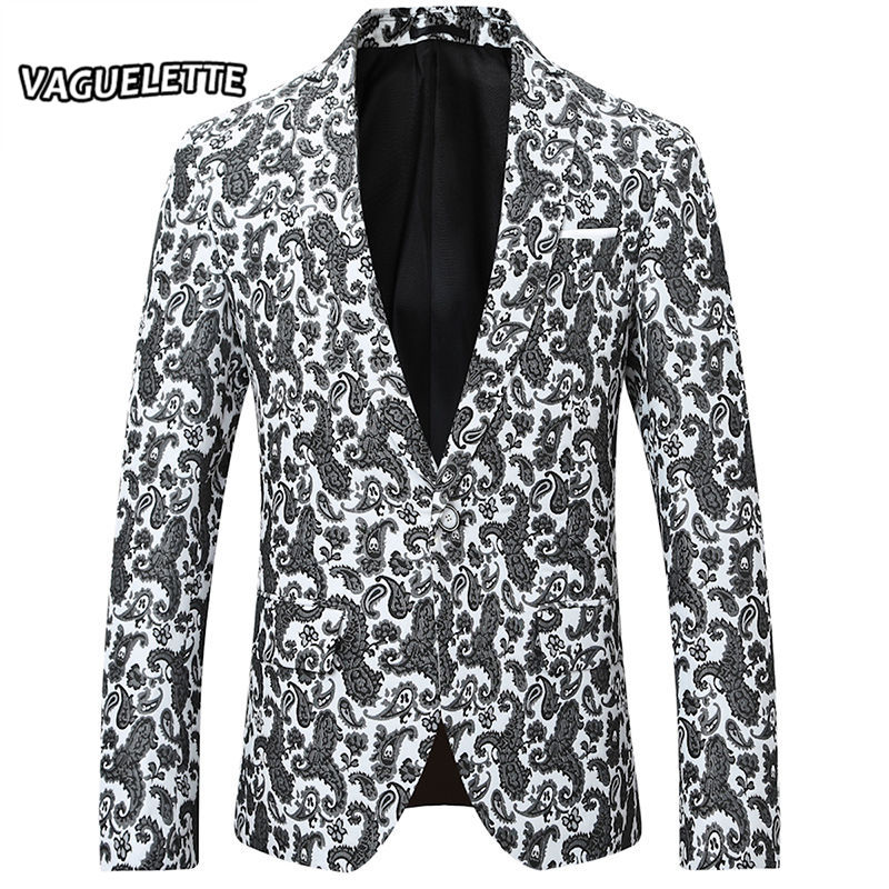 Aliexpress.com : Buy Paisley Pattern Blazer Homme Luxe