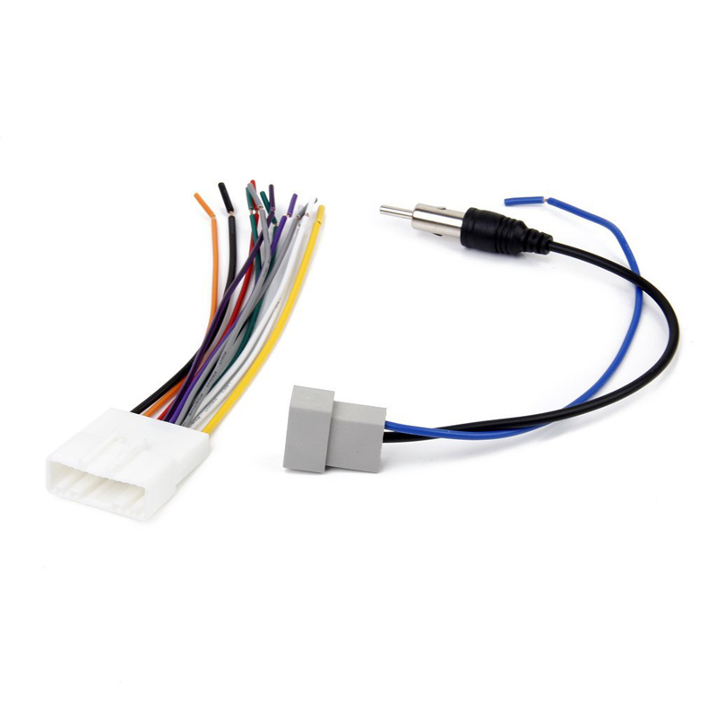 Female  Male Antenna Wiring Car Stereo Radio Antenna Cable