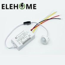220V IR Infrared Module Body Sensor Intelligent Light Lamp Motion Sensing Switch Adjustable Movement Sensing PIR Switch XF30
