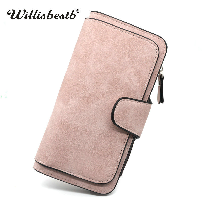 2018 New Women Wallets High Capacity Zipper Purse Woman Leather Brand Hasp Female Wallet Luxury Clutch Ladies Purse Card Holder new fashion women leather wallet deer head hasp clutch card holder purse zero wallet bag ladies casual long design wallets