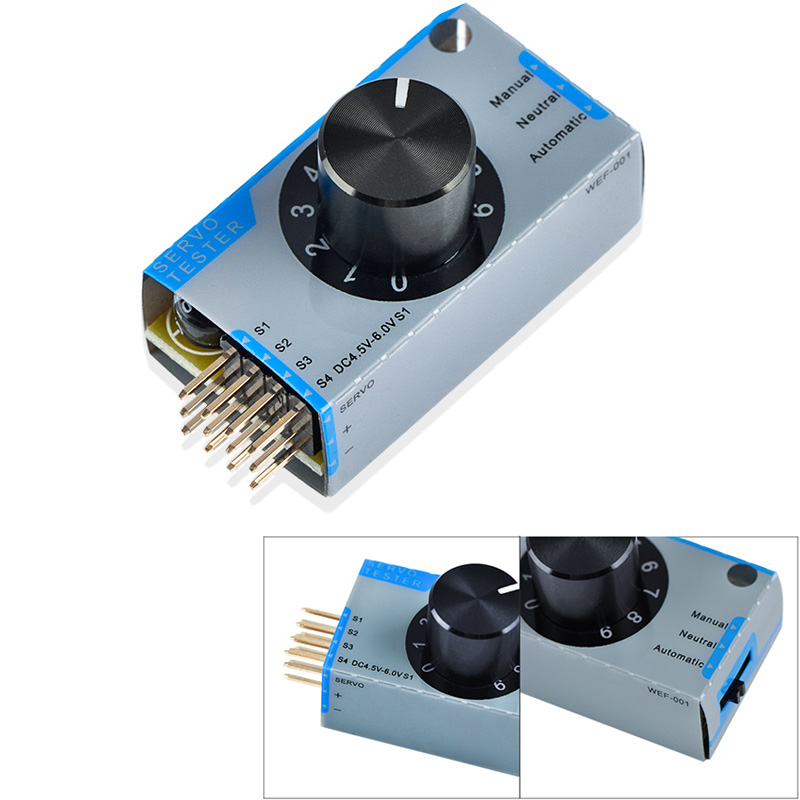 Updated Servo Tester Server For Remote Control Aircraft Electronic Speed Control
