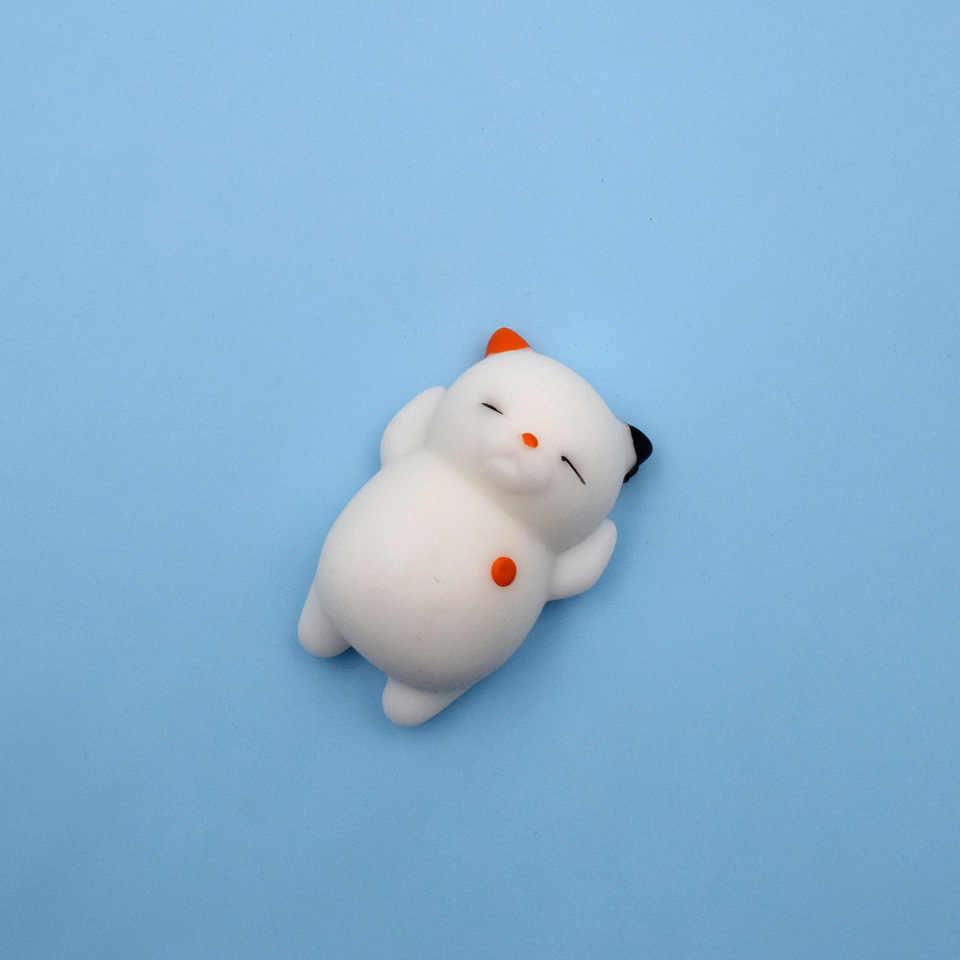 Милый мягкий антистресс Смешные мини сжимаемые игрушки Мягкие силиконовые руки сжимаемые животные прелестные куклы резиновые приседания детские подарки игрушки