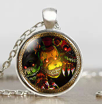 Jewelry & Accessories Necklaces & Pendants Movie Five Nights At Freddys Mangle Fnaf Fox Game Mens Women Fashion Necklace Brass Silver Pendant Steampunk Jewelry Gift Chain