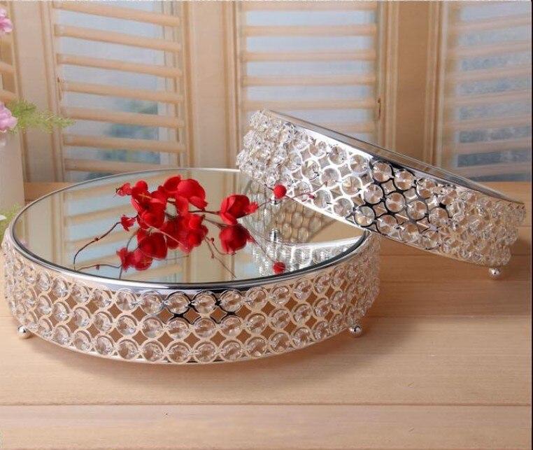 K9 cristal métal gâteau stand affichage barre de bonbons table décoration dessert fruits plaque mariage dessert décoration