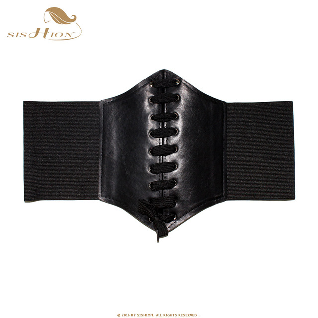 SISHION Black Red Pink Body Shapewear Women Gothic Clothing Underbust Waist Cincher Sexy Bridal Corsets and Bustiers VB0001 3