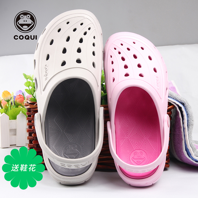 e3af7cdda15b15 men SANDALS cool beach shoes summer hole shoes bathroom bath anti-skid  indoor and outdoor cool slippers children sandals