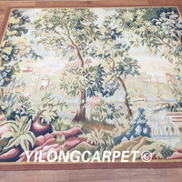 Yilong 5.7'x6.3' New Gobelin Picture Tapestry French Hand Made Aubusson Wall Tapestry (Au41 5.7x6.3)