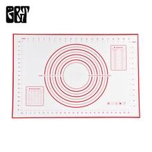 G & T 60 * 40cm Silikone Bage Mat Blad Non Stick Rolling Deig Pude Pizza Pastry Dejen Bage Liners Pads Køkken Madlavning Gadgets