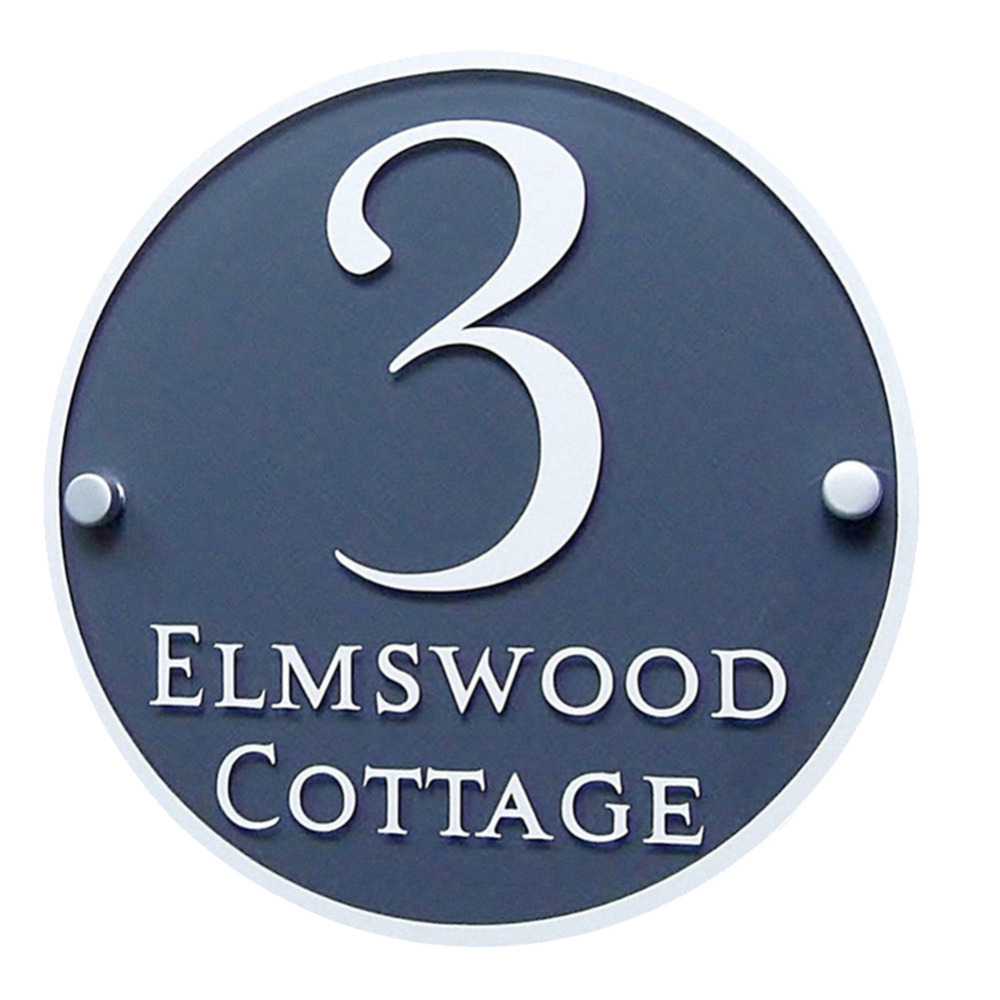 Customized House Sign Plaques Door Plates Clear Acrylic with Vinyl Decal Film Door Number/Street Name customized transparent acrylic house number plaques sign plates door number street name plates house signs with frosted films