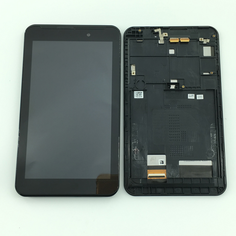 7 LCD Display Touch Screen Digitizer Assembly Frame For Asus Fonepad 7 2014 FE170CG ME170C ME170