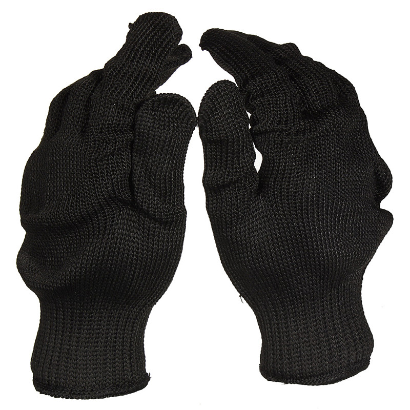 Safety Gloves Workplace Safety Supplies United Static Resistance Glove Stainless Steel Wire Safety Work Anti-slash Cut Proof